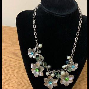 Vintage Floral Choker Necklace